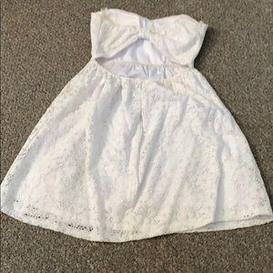 Open back dress. Never worn
